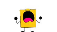SpongeDru SquareSponge Yells Noooo