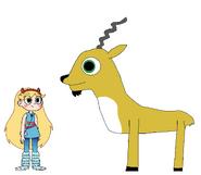 Star meets Markhor