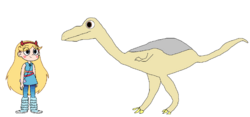Star meets Struthiomimus.png