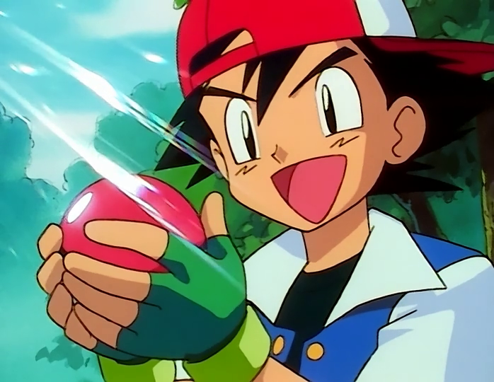 Ash Catches a Pokemon (Pokemon (200Movies Human Style))