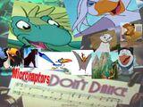 Microraptors Don't Dance