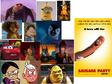 Gru, Alex, Ronnie Anne, Lincoln, Mumble, Jon, Garfield, Kevin, Otis, Lightning McQueen, Shrek and Batman Hates Sausage Party