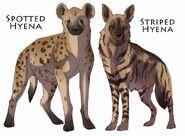 Hyenas by DawnFrost
