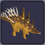 Kentrosaurus (Blue Fang)
