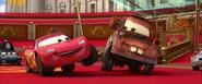 Lightning McQueen and Mater best friends