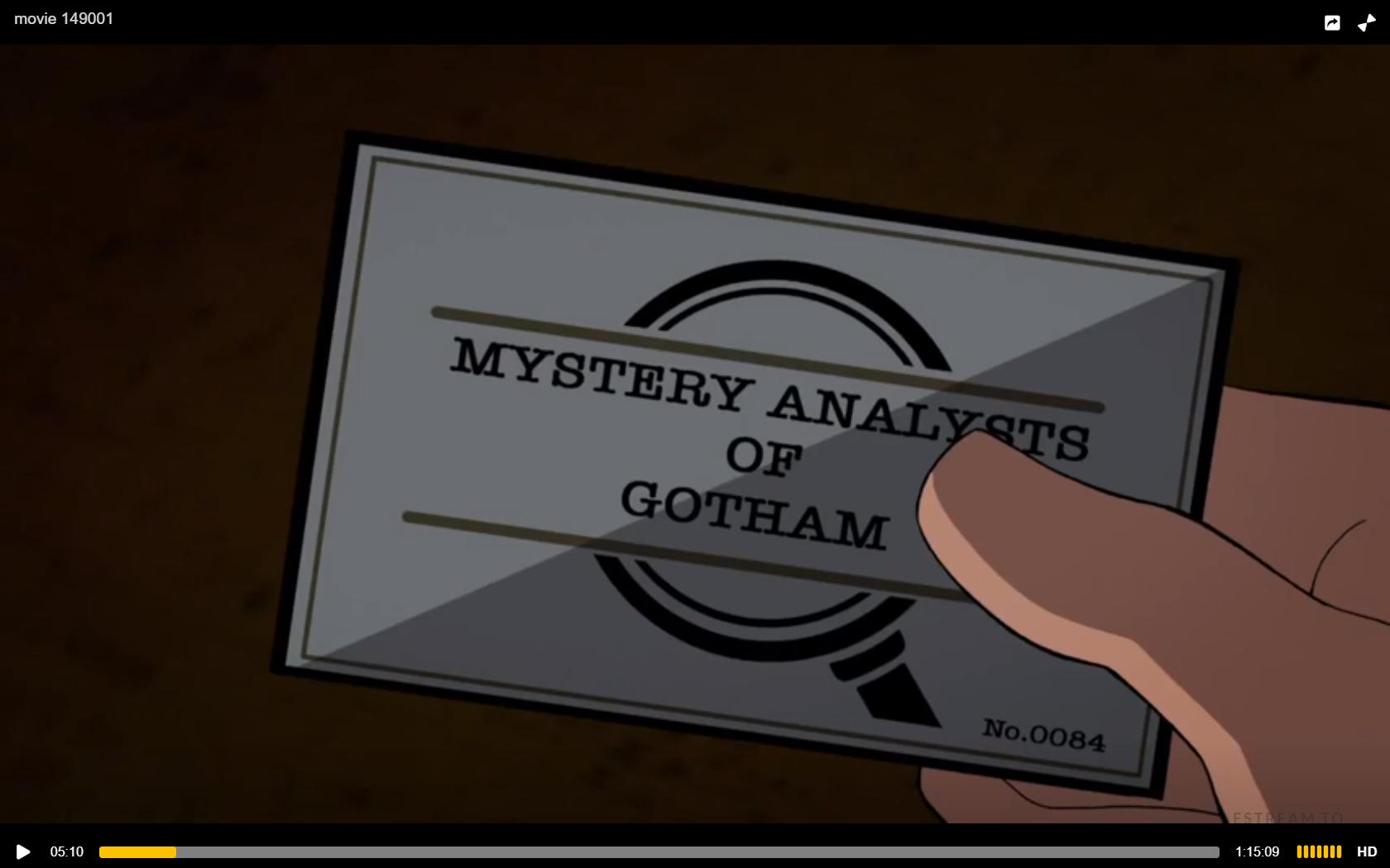 Mystery Analysts of Gotham
