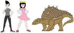 Riley and Elycia meets Nodosaurus.jpg