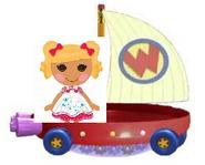 Spot Splatter Splash Riding the Wonder Pets Flyboat