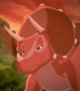 Tria in The Land Before Time 11 Invasion of the Tinysauruses