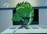 EFN Timon with iguana