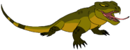 Gedang the Komodo Dragon