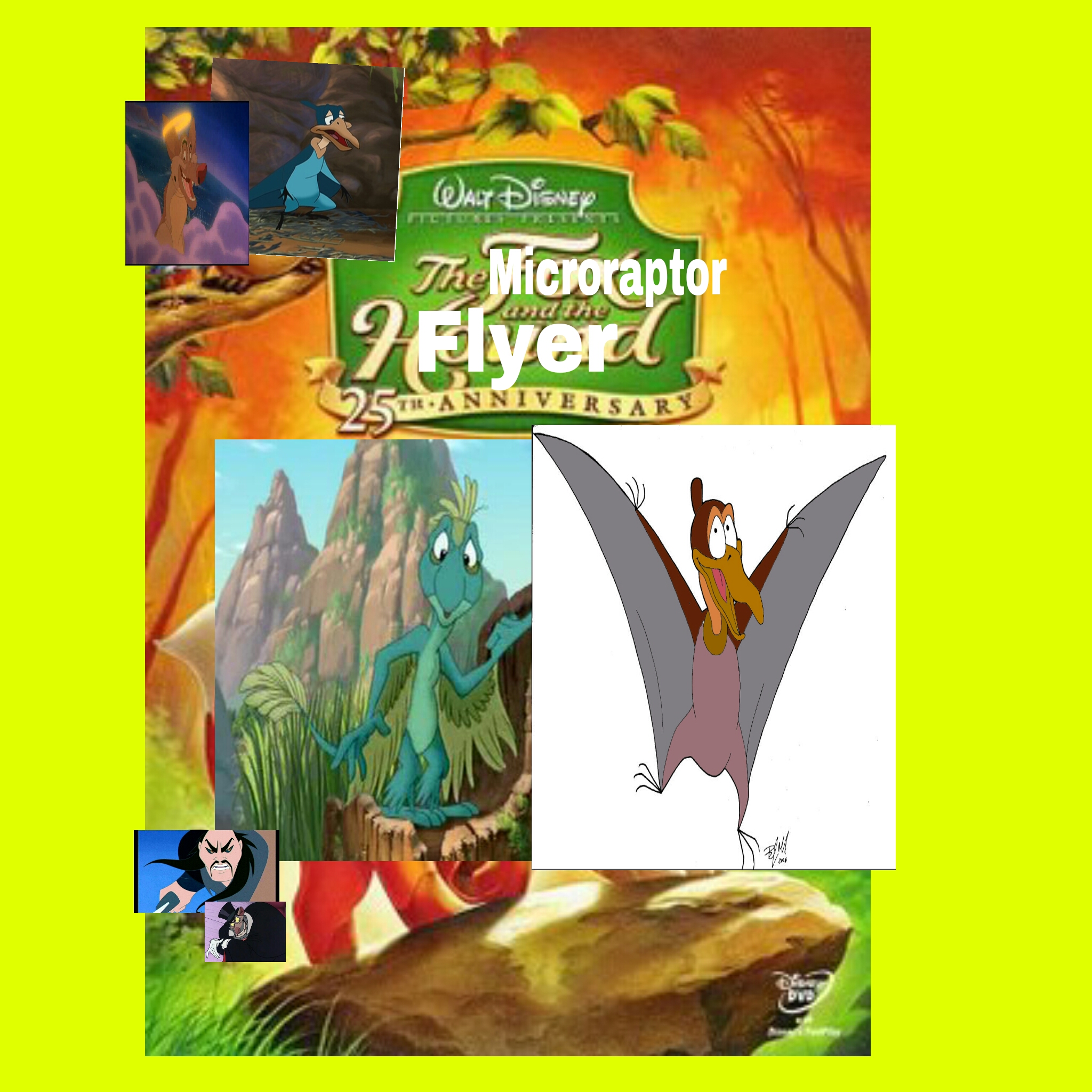 The Microraptor and the Flyer
