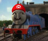 Gordon as Mario