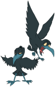 Melvin and Sykes the American Crows.png