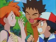 Misty has been cheating on Ash