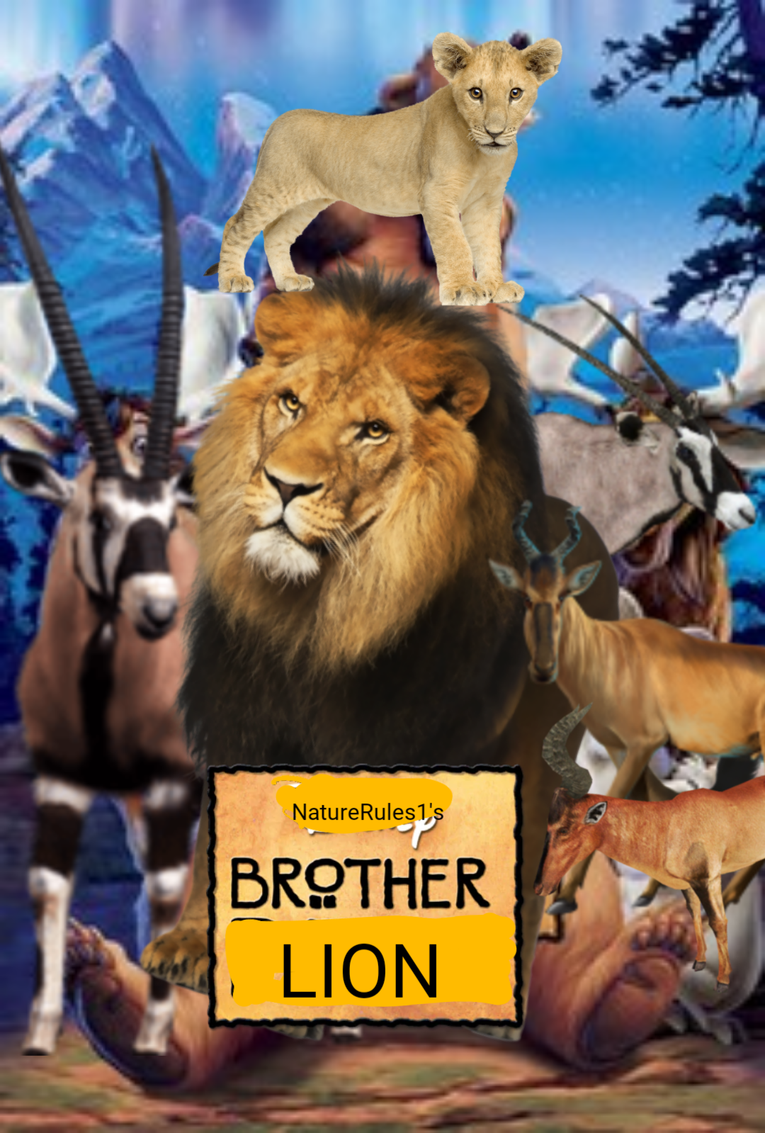 Brother Lion (NatureRules1 Version)