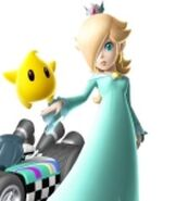 Rosalina in Mario Kart Wii
