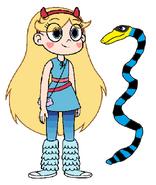 Star meets Sea Snake