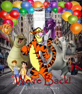 We're Back! A Animal's Story 1994 VHS Poster