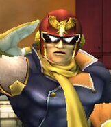 Captain Falcon in Super Smash Bros. Brawl