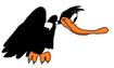 Daffy Duck as Condor bird