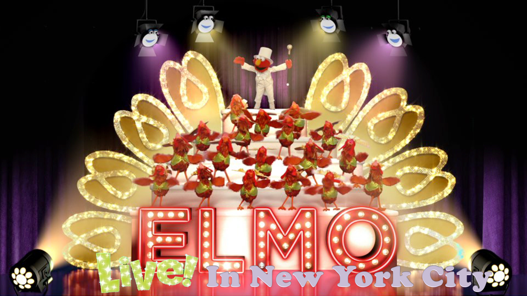 Elmo Live! In New York City