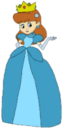 Melvina Spacebot princess doll form toystory2 in thespacebotsadventuresseries