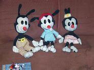 My animaniacs plush toys by jhwink-d7bijhj
