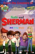Nate and Sherman- Best Friend Origins Poster 3