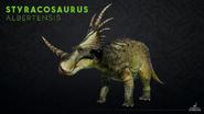 PK Styracosaurus