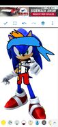 Sonic as Cubby