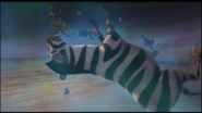 Zebra from Arthur Christmas