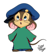 Fievel as theodore