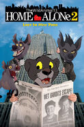 Home Alone (TheWildAnimal13 Animal Style) 2 Lost in New York Poster