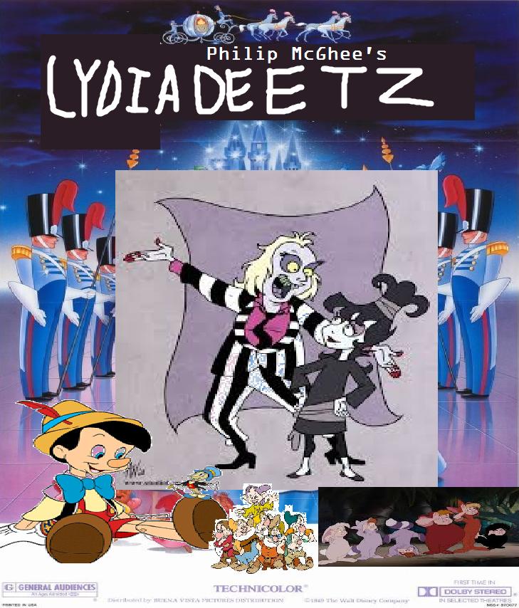 Lydia Deetz (Cinderella)