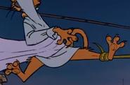 Prince john hanging the snake tail 7