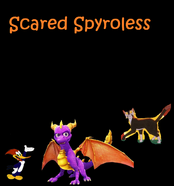 Scared Spyroless Poster