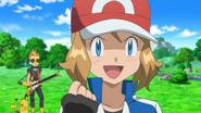 Serena Dressed as Ash