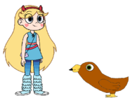 Star meets Golden Eagle
