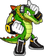 Vector the Crocodile transparent