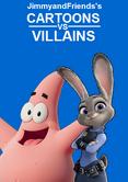 Cartoons vs aliens poster