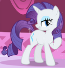 Rarity as Rouge