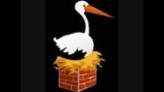 Safari Island Stork