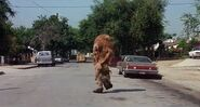 The Muppet Movie- Sweetums chases the Muppets' car