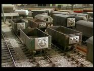 Troublesome Trucks as The Freight Cars.