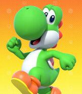 Yoshi in Mario Party 10