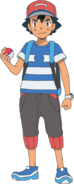 Ash ketchum as koga the legend of crystal forest