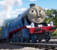 Gordon also as Donald the scottish twin engine