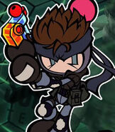 Solid Snake in Super Bomberbman R