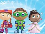 Super Why, Wonder Red, Princess Presto, and Alpha Pig's Big Musical Movie